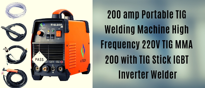 220V TIG MMA 200 with TIG Stick IGBT Inverter Welder